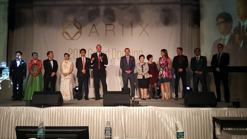 ariix south korea leaders