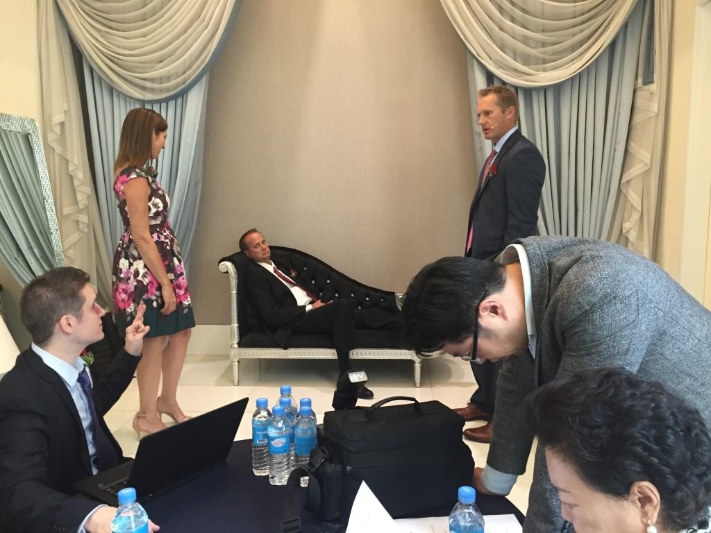 ariix south korea meeting
