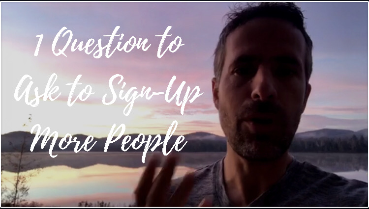 Sign-Up More People