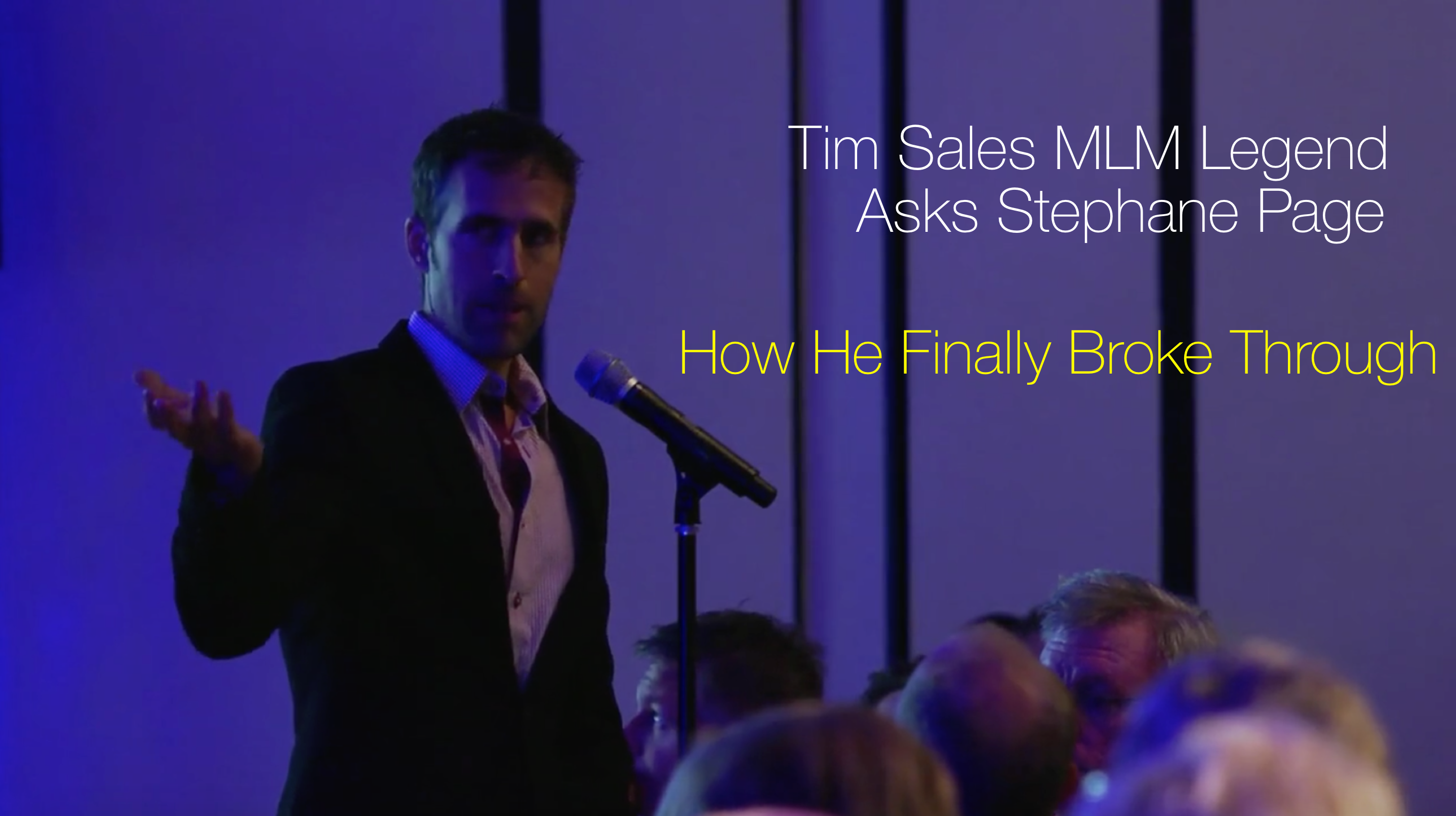 Tim Sales MLM Leader